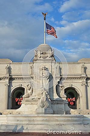 Union Station in Washington DC United States