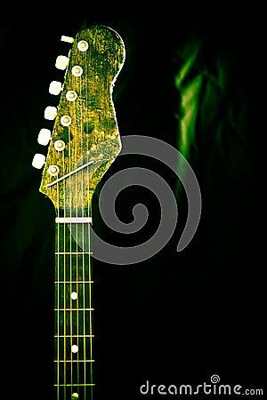 Unique and artistic guitar