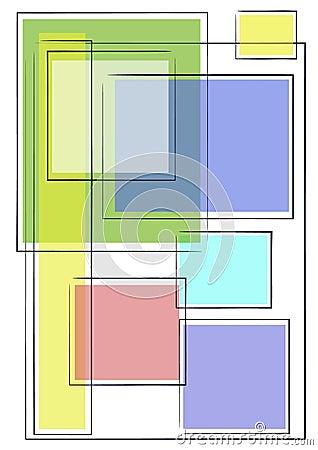 Unique Background Squares 2