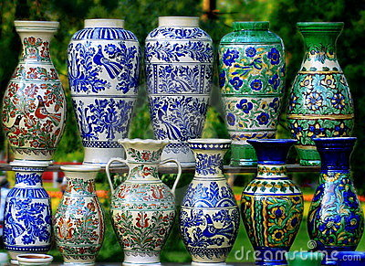 Unique and beautifull traditional pottery.