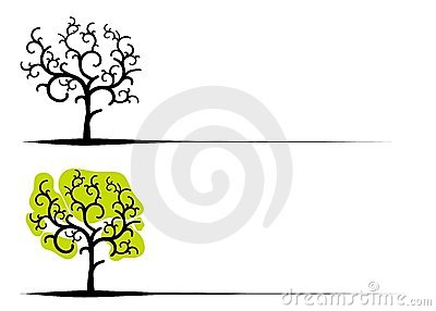 Unique Clip Art Trees
