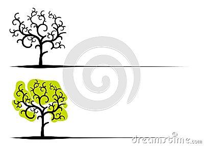 Unique Clip Art Trees