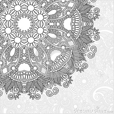 Unique coloring book square page for adults for Unique coloring pages for adults