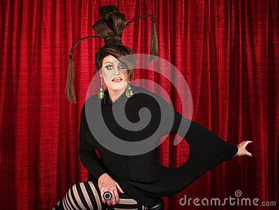 Unique Drag Queen Sitting