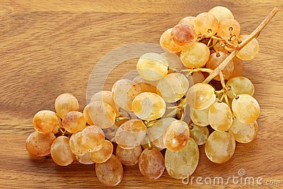 Unique Golden yellow White wine Grapes