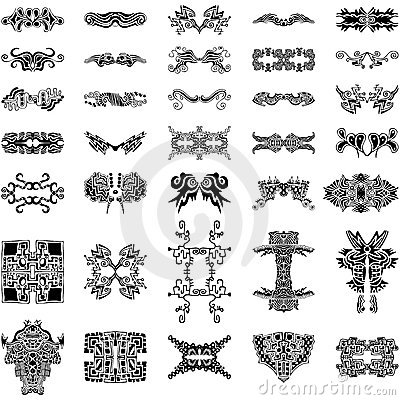 Unique Hand-drawn Vector Elements Collection Vector Illustration