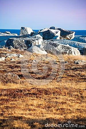 Unique landscape of coastal Nova Scotia