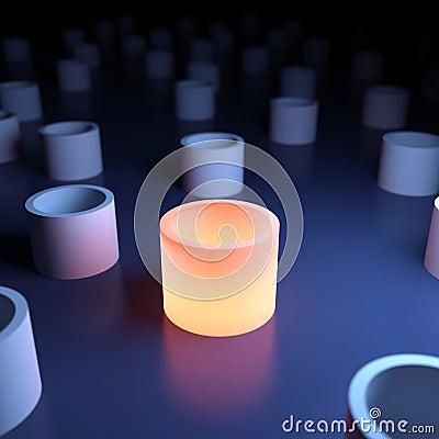 Free Unique Luminous Object Stock Photo - 33719490