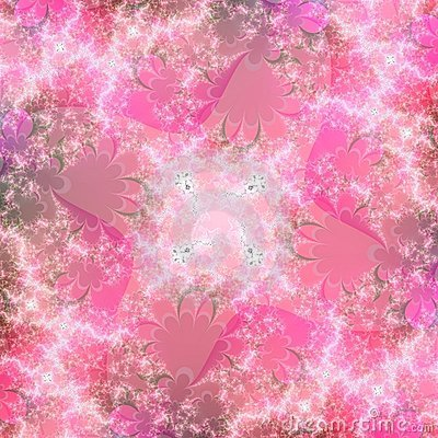 Unique Pink Abstract Background Pattern