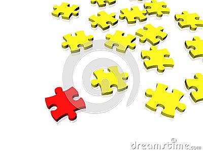 Unique puzzle conept