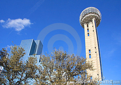 Unique Reunion Tower in Dallas