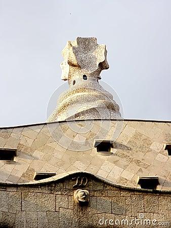 Unique rooftop architecture