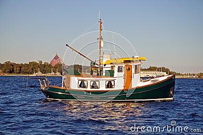Unique tug boat