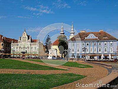 Unirii Square, Timisoara, Romania (2)