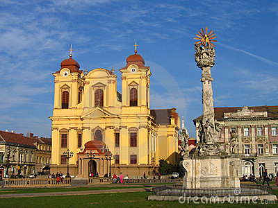Unirii Square - Timisoara, Romania