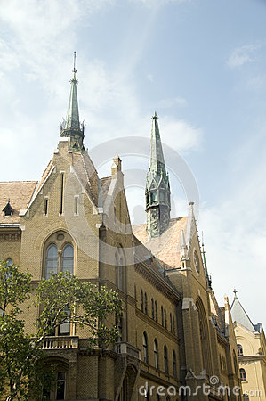 Unitarian Church Budapest Hungary