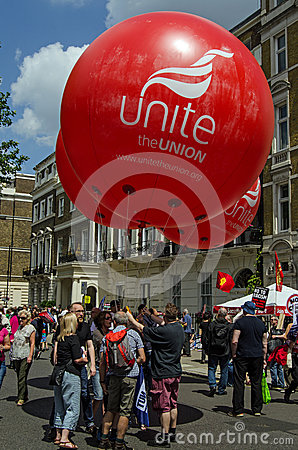 Unite Union Balloons Editorial Photography