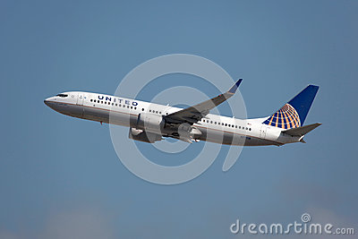 United Airlines Boeing 737-800 Editorial Image