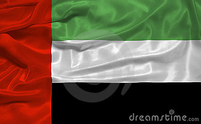 United Arab Emirates Flag 3