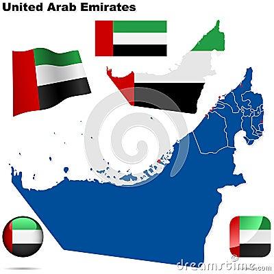 United Arab Emirates set.