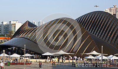 United Arab Emirates World Expo Pavilion Editorial Stock Photo