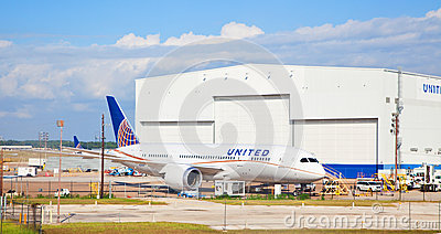 United Boeing 787 Dreamliner Editorial Photography