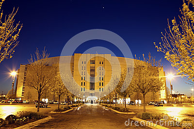 United Center in Chicago Editorial Photography