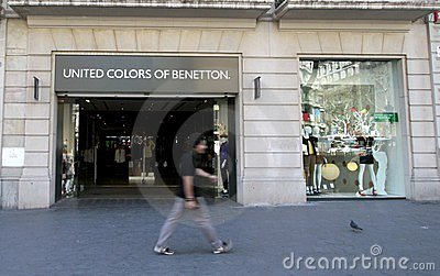 United Colors of Benetton Editorial Stock Image