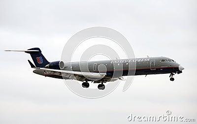 United Express regional flight Editorial Image