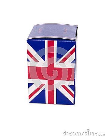 United Kingdom flag and London 2012