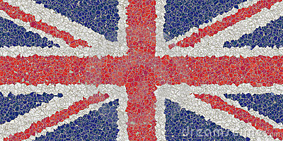 United kingdom mosaic
