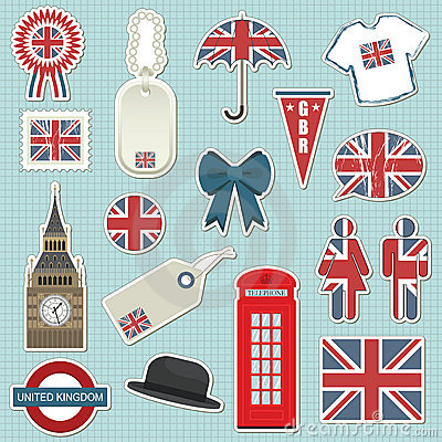 United kingdom stickers