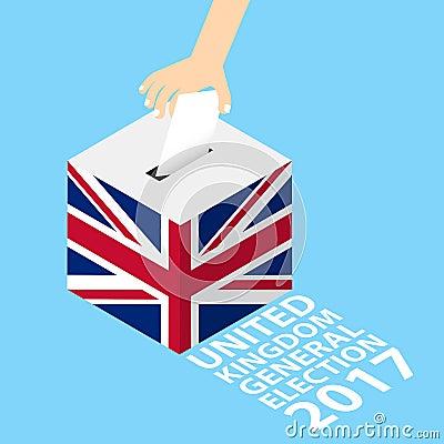 Free United Kingdom UK General Election 2017 Royalty Free Stock Photography - 91326177