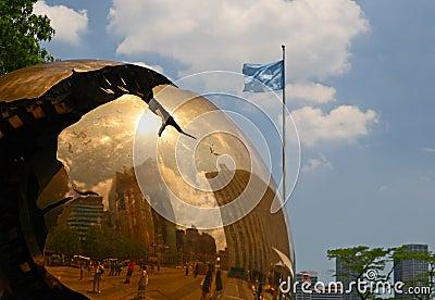 The United Nation Headquarter Plaza