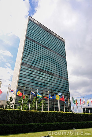 United Nations Editorial Stock Image