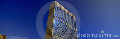 United Nations Building Editorial Image
