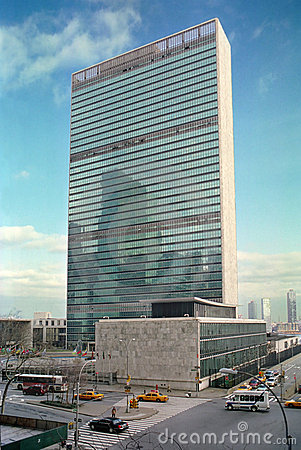Free United Nations Building New York USA Royalty Free Stock Images - 4491049