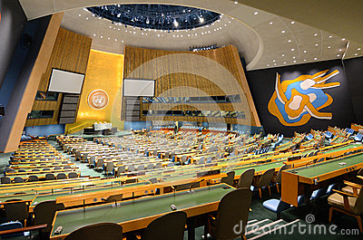 United Nations General Assembly Editorial Photography