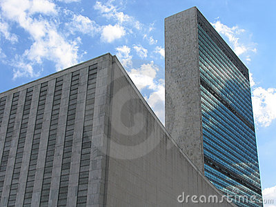 United Nations General Assembly and Secretariat Buildings, Landscape View