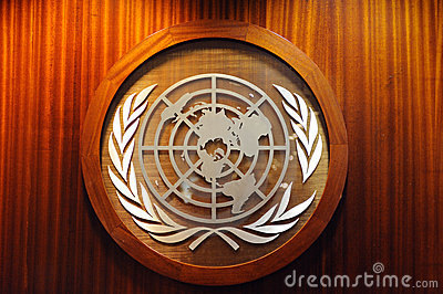 United Nations logo Editorial Image