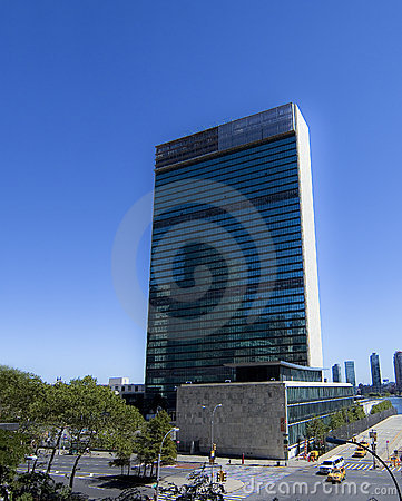 United Nations New York headquarters Editorial Image