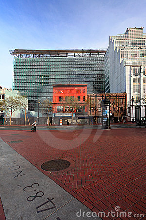 United Nations Plaza,San Francisco Editorial Stock Photo