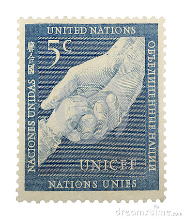 United Nations Postage Stamp