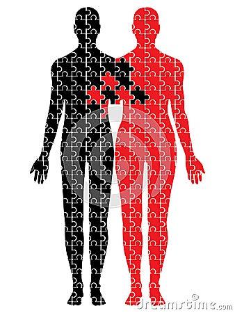 United puzzle bodies