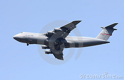 United States Air Force Lockheed C-5B Galaxy Editorial Stock Image