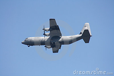 United States Air Force  Lockheed Martin C-130J-30 Editorial Stock Image
