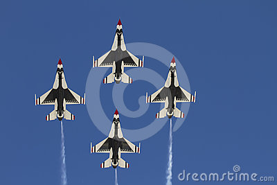 United States Air Force Thunderbirds Editorial Stock Image