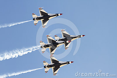 United States Air Force Thunderbirds Editorial Image
