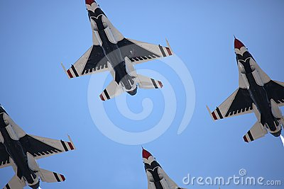 United States Air Force Thunderbirds Editorial Photo
