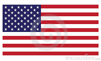 United States of America flag (Vector Available)